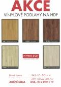 Akce - vinylové podlahy na HDF