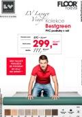 Akce na kolekci podlah LV Bestgreen – PVC podlahy v roli
