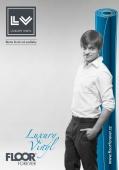 Leták s akčními cenami na PVC podlahy v rolích Floor Forever LV Luxury Vinyl