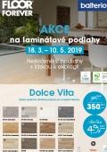 Cenová akce na laminátové podlahy Balterio Dolce Vita, Magnitude a Quattro Vintage