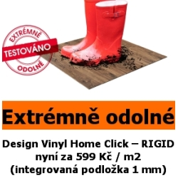 Desing vinyl home click rigid