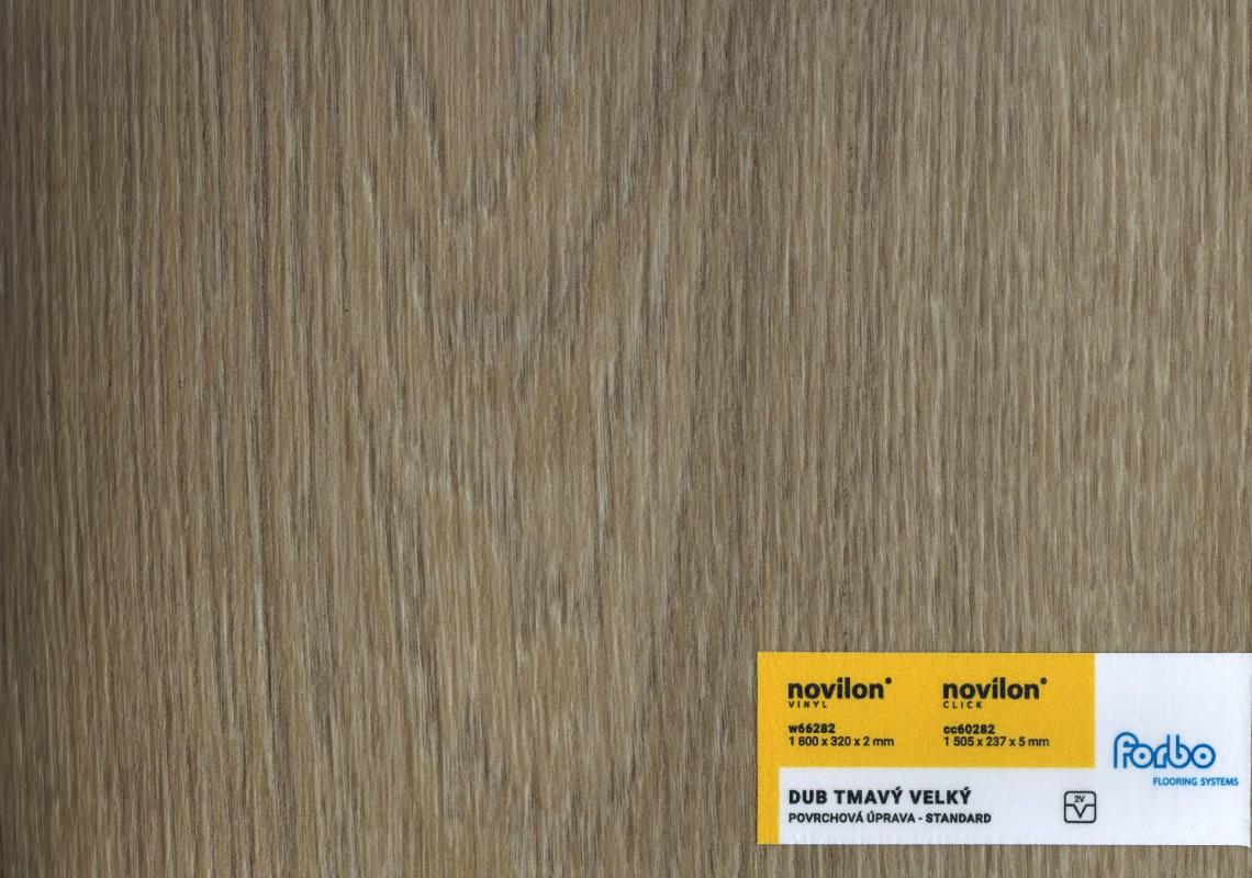 Marmoleum click tegels: novilon click teredo oak vinyl flooring